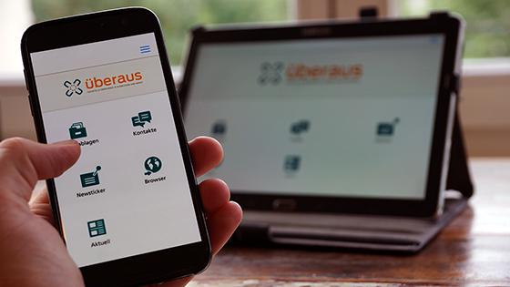 Kostenlose Messaging-App anhaken